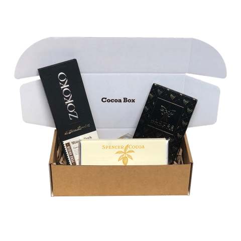 Mixed Chocolate Subscription Box Cocoa Box