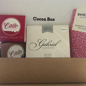 December box cocoa box