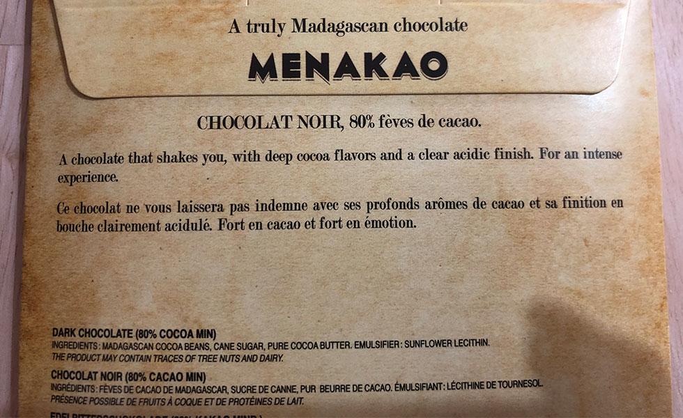Menakao-Ingredients