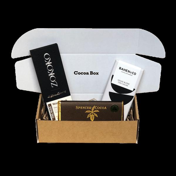 Dark Chocolate Subscription Box   Cocoa Box