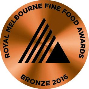 Royal Melbourne Fine Foods Awards Bronze