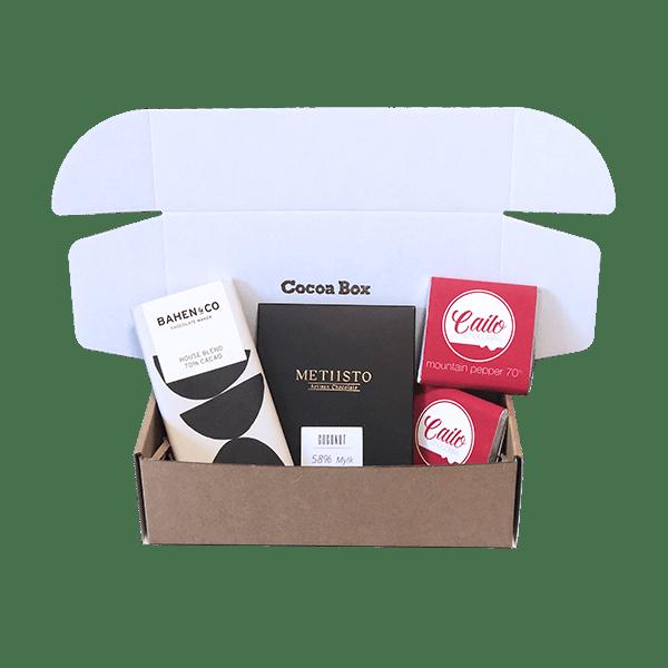 vegan chocolate subscription box